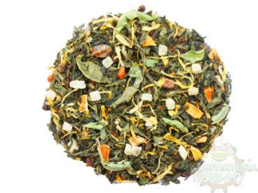 moc aloesu herbata zielona