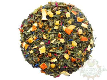 pomarańczowa energia herbata zielona