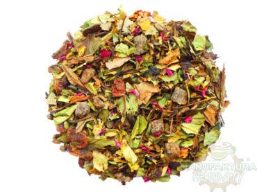 soczysta nektarynka ice tea herbata biała